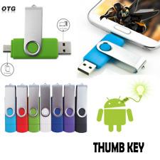 OTG USB 2.0 Flash Drive 64GB-4GB de Memoria en Miniatura clave Pen Almacenamiento Nuevo Lote TH
