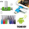 OTG USB 2.0 Flash Drive 64GB-4GB Memory Thumb Key Stick Pen Storage NEW lot TH