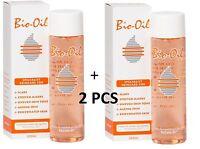 2pc BIO OIL for Skin SCARS STRETCH MARK UNEVEN SKIN TONE 200ml/6.7oz USA Seller