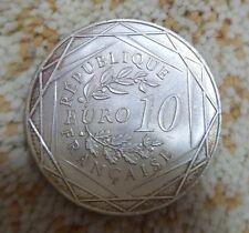 2016 EURO UEFA France 10€ argent