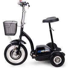 Electric Scooter EV Power 350 Watt 3 Wheeler Trike Mobility Basket Mo-Ped 36v RV