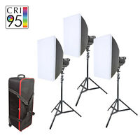 LED Continuous Lighting Kit Video Interview Product Photo 60W Bowens S Fit UK