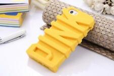Fashion 3D PINK Letter Soft Silicone Rubber Case iPhone 6 6s yellow girl
