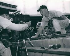 1953 Young Mickey Mantle Poses for the Cameras 11x14 Archival Photo