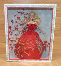 Genuine Mattel (W3465) Collectible 2012 Holiday Barbie With Blonde Hair in Box!