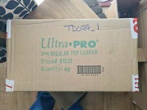 ULTRA PRO TOP LOADERS  CLEAR - 3 X 4 INCH CASE OF 1000 PRE ORDER FOR 01/12/20