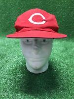 Vintage Cincinnati Reds MLB Baseball Trucker Mesh SnapBack Hat Cap
