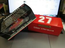 brumm - Scale 1/43 - Ferrari 126C2 turbo Gilles Villenuve no.27 Mini Car F1 A11