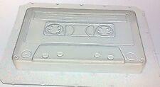 """Flexible Soap Mold Custom Cassette Tape 4"""" in Length x 1/2"""" Deep"""