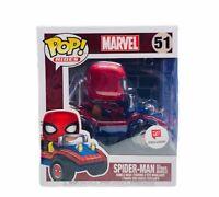 Funko Pop! vinyl toy figure box pop Spider-man mobile car 51 exclusive marvel 2B