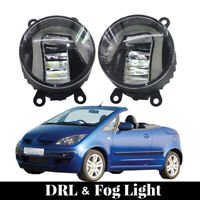 LED Fog Lamps Driving Lights with Built-In DRLs&Alloy Cover For Mitsubishi Colt