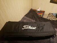 Titleist Golf Wheeled Padded Professional Travel Bag