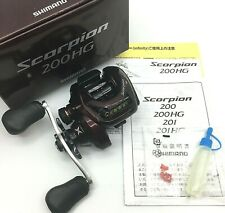 Shimano Scorpion 200HG Right Handed Bait Casting Reel <Neart Mint+> JAPAN【DHL】