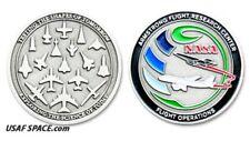 Armstrong NASA FLIGHT RESEARCH - FLIGHT OPERATIONS - ORIGINAL COIN-MEDALLION