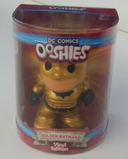 NEW ~ DC COMICS VINYL EDITION OOSHIE ~ GOLDEN BATMAN SERIES 1 OOSHIES GOLD RARE