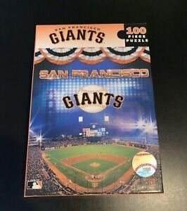 MASTERPIECES MLB JIGSAW PUZZLE SAN FRANCISCO GIANTS 100 PCS HARD BOX #91552