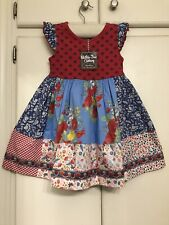 Matilda Jane In The Stars Dress Size 4 NWT 4th Of July