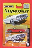 MATCHBOX Superfast  von 2005  Nr. 27  1961 DODGE DART PHOENIX   OVP