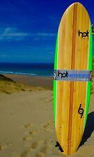 """7""""0 ft Hotsurf 69 Softboard Beginners Surfboard Learners Board Fins/leash /wax"""