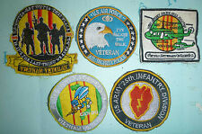 VIETNAM WAR - Patch - US VETERAN - NAVY, ARMY, AIR FORCE, SECURITY POLICE - 4372