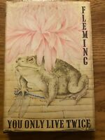 """Vintage 1964 """"You Only Live Twice"""" 1st Edition US -  Ian Fleming James Bond 007"""
