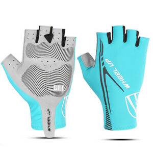 Cycling Half Finger Gloves | Stretch Lycra fabric | Breathable Hole | Anti-slip