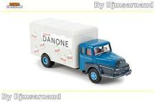 Camion UNIC ZU 122 Izoard Danone BREKINA - SAI 2957 - Echelle 1/87