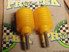 Pro-Tek Bar End Sliders Yellow Suzuki GSXR600 GSXR750 SV650 BS26Y