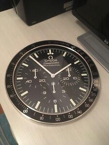 omega speedmaster Wall Clock