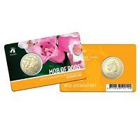 Australia 2019 Melbourne ANDA 'Common Heath' Privy Mark $1 UNC Coin Carded