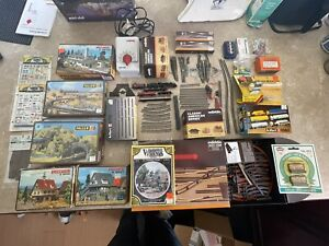 Marklin Z Scale Train Set With Lots Of Extras