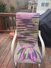 YOHCreations Crochet Mermaid Blanket/Afghan - Teen Size