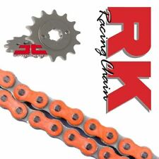 KTM Duke 125 Chain and Sprocket Kit Orange RK Racing X Ring 14-17