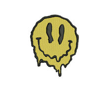 Face Melt Iron-On Patch - Trip EDM Rave Hipster Stoner Rock Psychedelic Magic