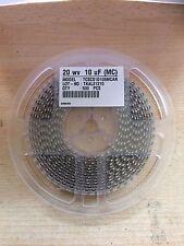1 Carrete 500 SMT sólido Condensador de tántalo 10uF 20v 20% 1.8 Ohm caso C Z12
