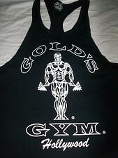 Vintage GOLD'S GYM HOLLYWOOD Weightlifting Muscle SHIRT TANK TOP USA XL New