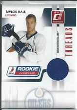 Taylor Hall 10/11 Donruss Rookie Showcase Threads Rookie Jersey Short Print /250