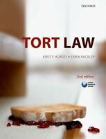 Tort Law By Kirsty Horsey, Erika Rackley. 9780199600779