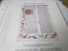 Frankfurt Archiv A7 Kunstgewerbe 5004 Rorbach Missale 1460