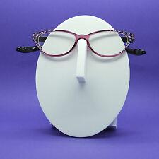Reading Glasses Rounded Cat Eye Crazy Kitty Bling Sparkle +2.50 Lens