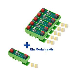 6 X Überspannungsableiter für KNX-TP und Hilfsspannung - 1000 Ampere (Type 3)