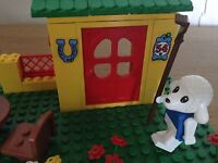 LEGO VINTAGE FABULAND - 3654 - COUNTRY COTTAGE - RARE BOXED & COMPLETE - SCARCE
