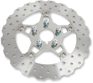 EBC Brake Rotors for Big Twin Models 5-Button Front-Wide Band Contoured FSD011C