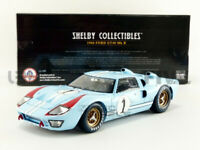 SHELBY COLLECTIBLES 404 411 415 417 or 423 FORD GT40 MK2 4 race car Le Mans 1:18