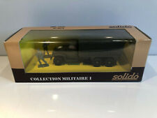 1/50 Solido Véhicule Militaire Miniature Gmc Tolee N°6036 Collection Neuf