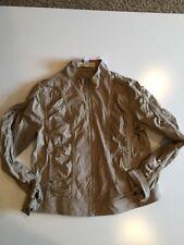Fashion Bug Khaki Coat Size 16