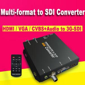 Multi-format to SDI Converter  CVBS, HDMI, VGA to SDI Free shipping VIA DHL