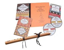 Native American Style Flute Beginner's Kit, Key of A FIRST HAWK cedar with DVDs