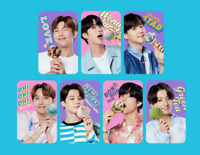 BTS Baskin Robbins Official Photocard Limited Edition BTS  Photo Card