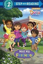 Meet My Friends! (Dora and Friends) (Step into Reading)-ExLibrary